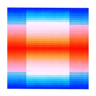 """Spectrum 2"" Color Space Series 50 Op Art Print by Jessica Poundstone For Sale"