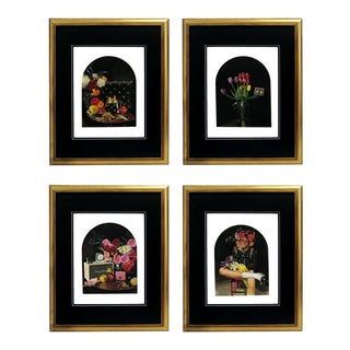 Framed Gucci Vintage Radio Bee Purse Vignette & Still Life Prints - Set of 4 For Sale