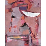 """Image of Abstract Painting, """"Moon Sliver"""" For Sale"""