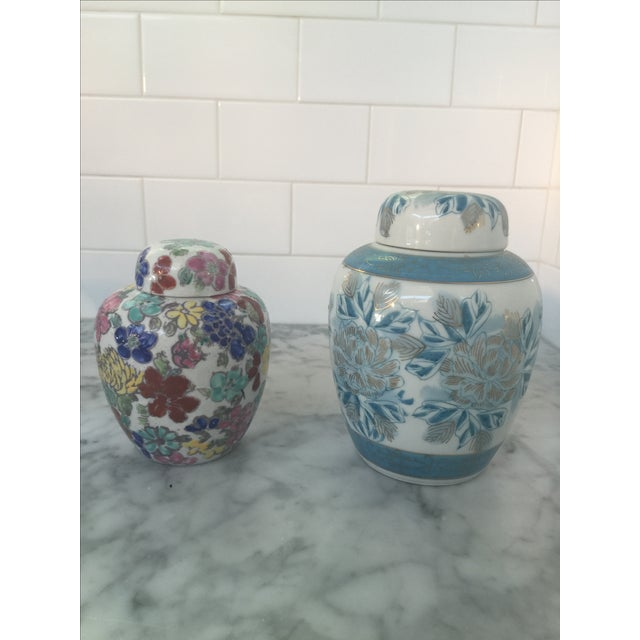 Vintage Japanese Ginger Jars - Pair - Image 6 of 11