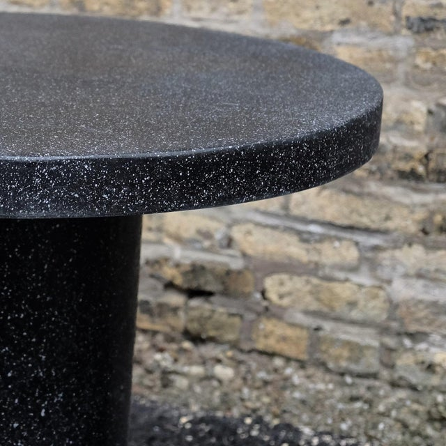 Not Yet Made - Made To Order Cast Resin 'Spring' Dining Table, Coal Stone by Zachary A. Design For Sale - Image 5 of 10
