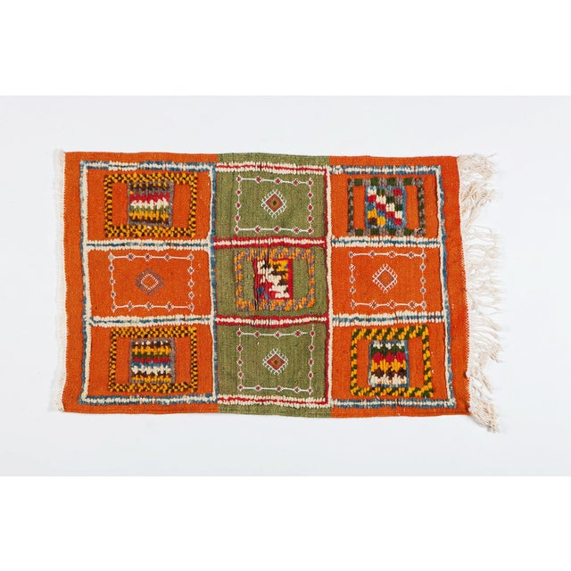 """Textile Modern Moroccan Berber Rug-2'1'x3'3"""" For Sale - Image 7 of 7"""