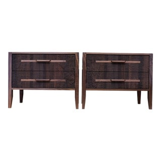 Walnut Bedside Tables Nightstands For Sale