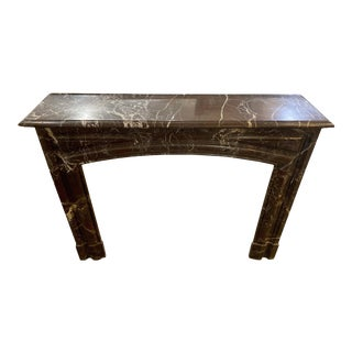 Antique French Marble Mantel, circa 1850 For Sale
