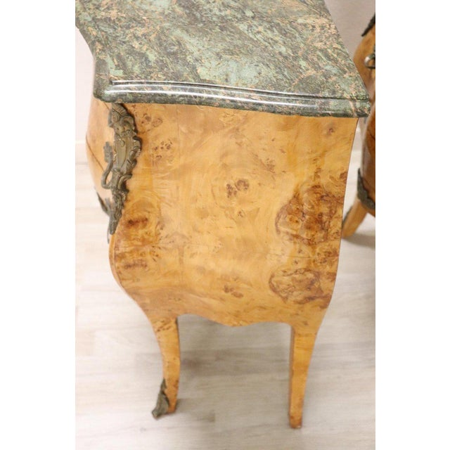 20th Century Italian Venetian Louis XV Style in Wood Burl - a Pair For Sale - Image 10 of 13