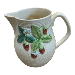 1920s Beswick Strawberry Pitcher For Sale