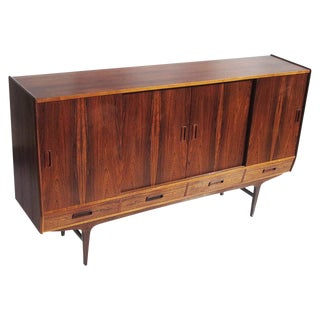 Rosewood Sideboard by Danish Designer Hans Jorn For Sale