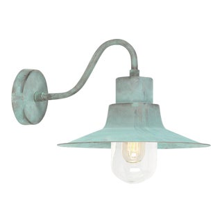 Sheldon Verdigris Wall Lantern For Sale