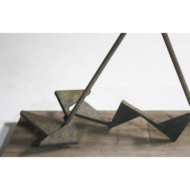 1960s Calder-Style Brutalist Sculpture For Sale - Image 5 of 8