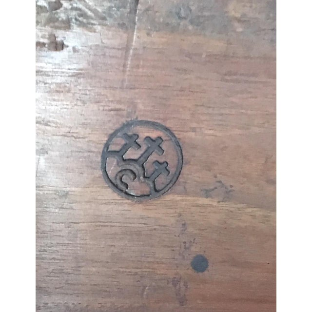 Brown 1900s Renaissance Revival Oak Prie Dieu Watson & Boaler Nighstand For Sale - Image 8 of 11