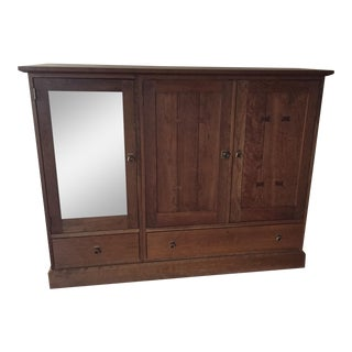 Stickley Mission Cherry Entertainment Center