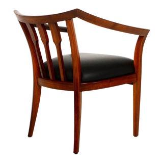 Set of Four Custom Walnut Chairs