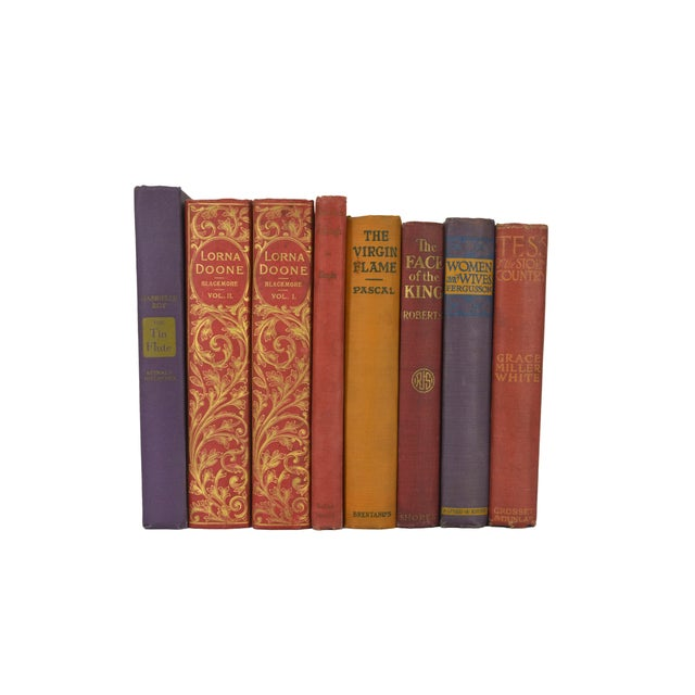 Various Vintage Decorative Books - Set of 8 - Image 1 of 4