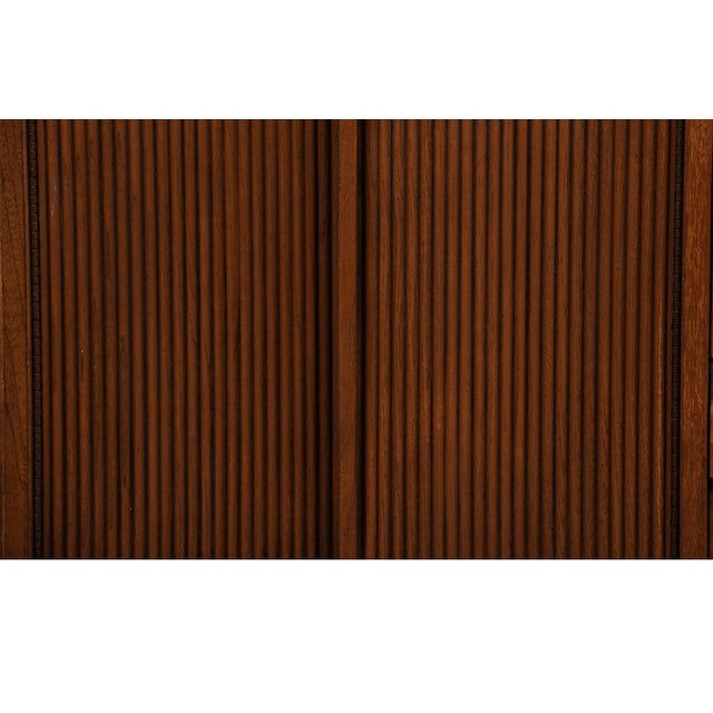 Mid-Century Modern Mid Century Lane First Edition Walnut Buffet Credenza Hutch For Sale - Image 3 of 13