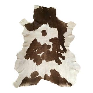 Calf Hide Throw Rug- 2′4″ × 3′4″ For Sale