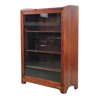 Antique Oak Book Shelf For Sale