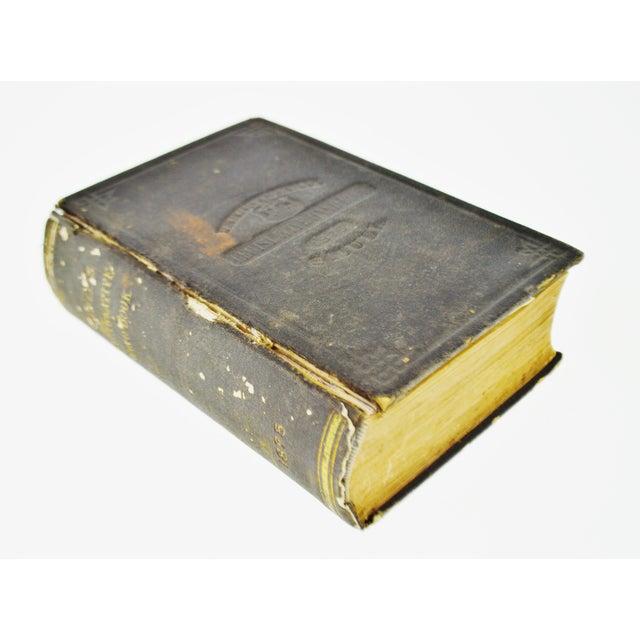 Traditional 1875 Pennsylvania Legislative Handbook W/ Antique 1875 Map of Pennsylvania Smull For Sale - Image 3 of 13