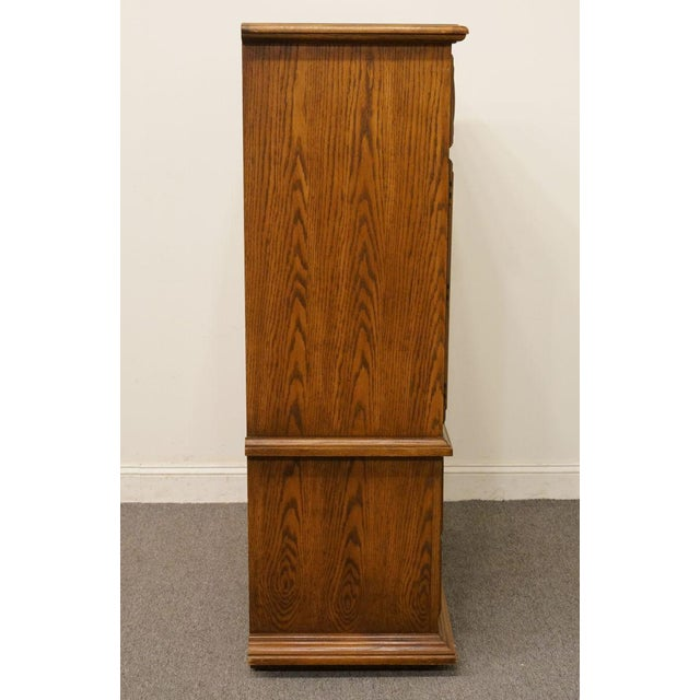 "20th Century Traditional Thomasville Furniture Levitz Collection 41"" Door Chest/Armoire For Sale - Image 11 of 13"