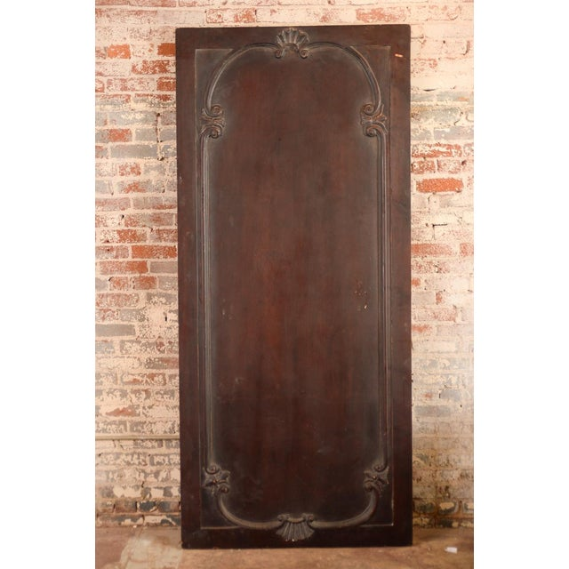Antique Neoclassical Carved Doors - Set of 4 - Image 11 of 11
