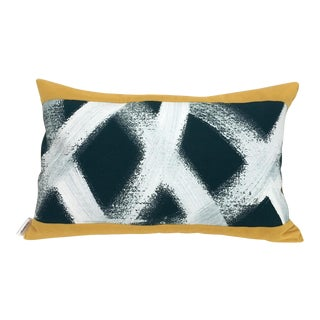 Custom Made Hand Painted Pillow For Sale