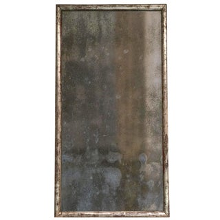 19th Century Mirror, Silver Leaf
