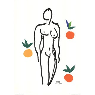 Henri Matisse, Nude With Fruits, 1994, Serigraph For Sale