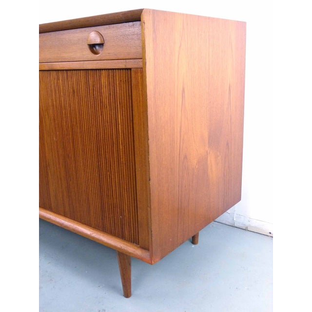 Brown Grete Jalk for Sibast Tambour Teak Credenza For Sale - Image 8 of 10