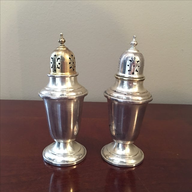 Gorham Sterling Silver Salt and Pepper Shakers - Image 2 of 3