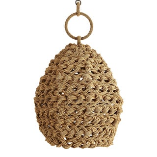Arteriors Organic Modern Coco Bead Saxon Pendant Light For Sale