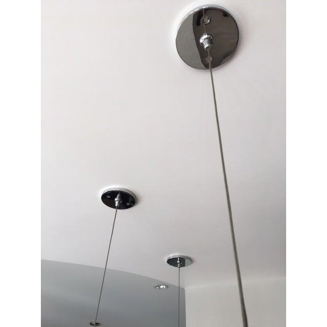 Hand Blown Glass Coax Low Voltage Pendants - Set of 3 - Image 5 of 7