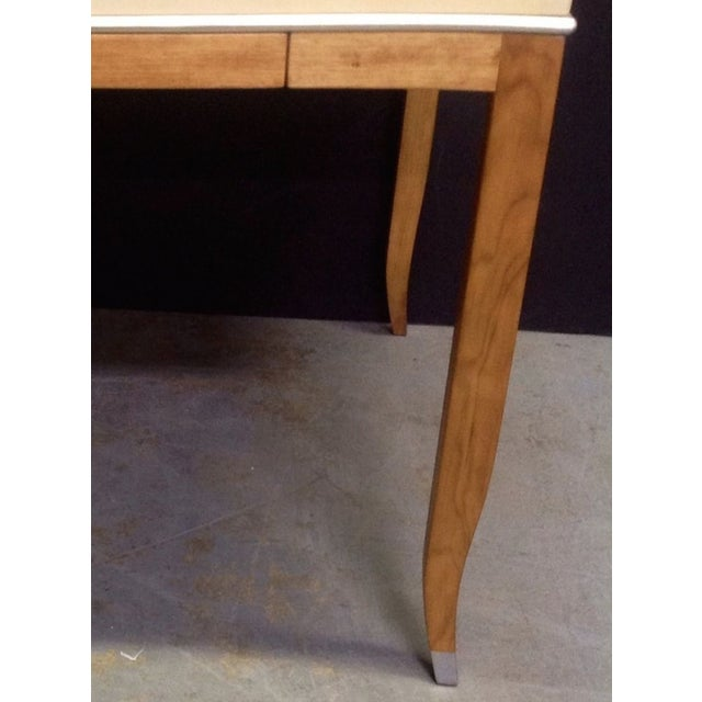Lacquered Goatskin Game Table - Image 6 of 10