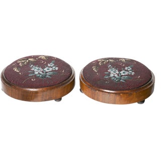 Mid 19th Century Footstools - A Pair