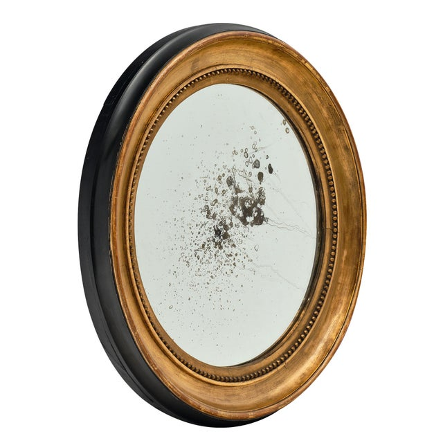 Louis XVI Period French Round Mirror For Sale - Image 9 of 10