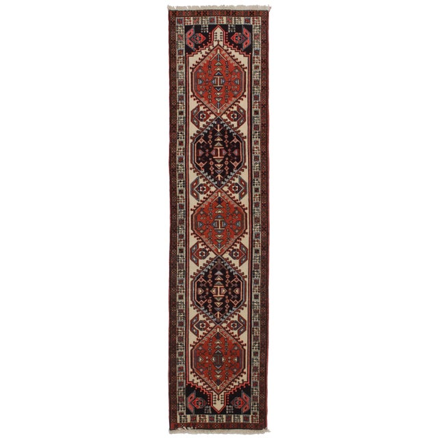 "Vintage Persian Ardebil Runner - 2'5"" X 10' For Sale"