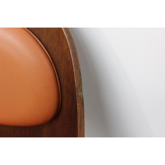 Mid Century Modern Bent Plywood and Vinyl Dining Chairs For Sale - Image 12 of 13