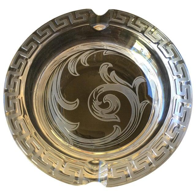 Versace Greek Key Ashtray - Image 1 of 3