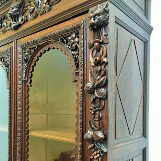 Flemish Buffet a Deux Corps in Carved Oak, Circa 1850 Preview