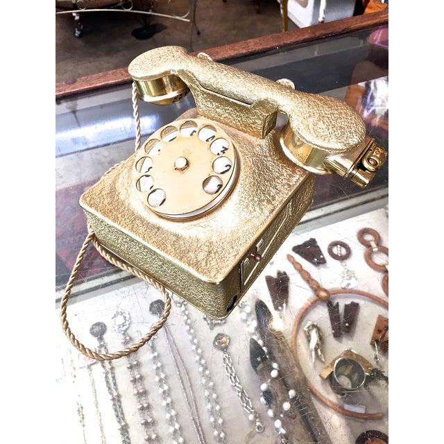 Vintage Gold Music Box Cig Holder & Lighter - Image 3 of 11
