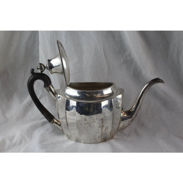 Federal Late 1700s Federal Tea Set of 5 For Sale - Image 3 of 10