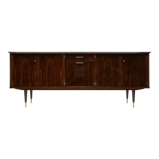 Mid-Century French Macassar of Ebony Buffet For Sale