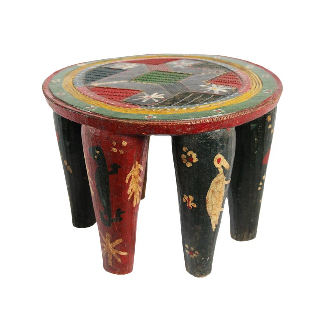 Old Nupe Stool Nigeria For Sale