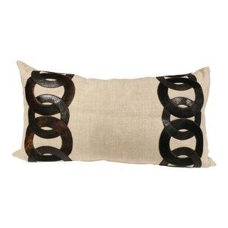 Linen Toss Pillow For Sale
