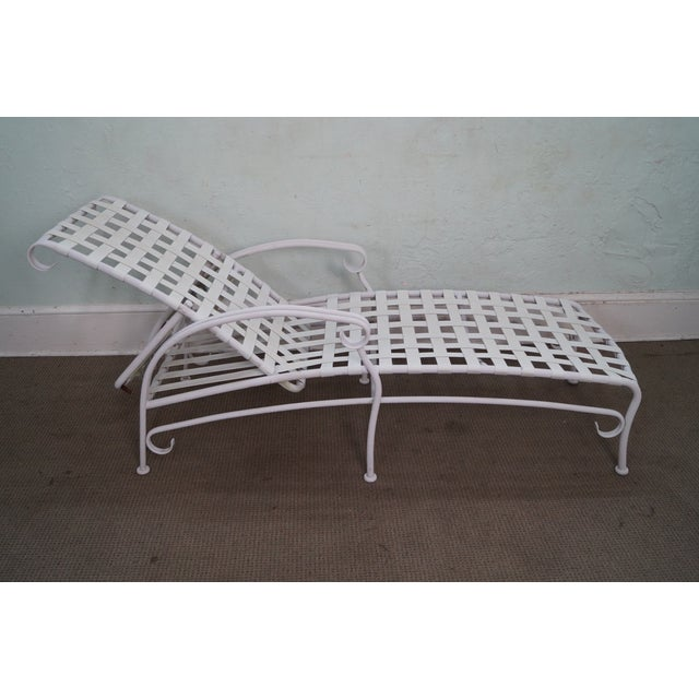 Woodard Ramsgate Patio Chaise Lounge - Image 4 of 10