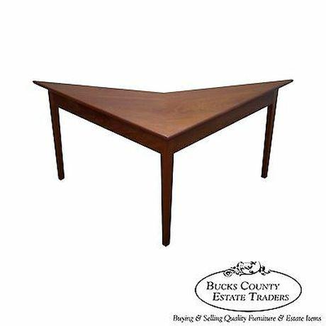 Mid Century Modern Studio Made Triangle Boomerang Low Table For Sale - Image 13 of 13