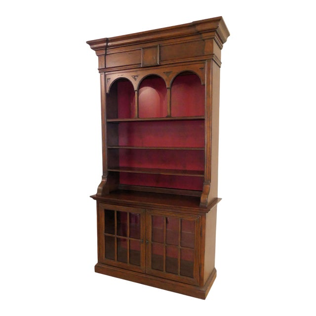 Hekman Display Cabinet Bookcase Hutch For Sale