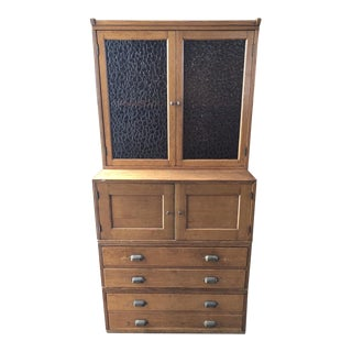 Antique Yawman and Erbe Oak Stacking File Cabinet For Sale