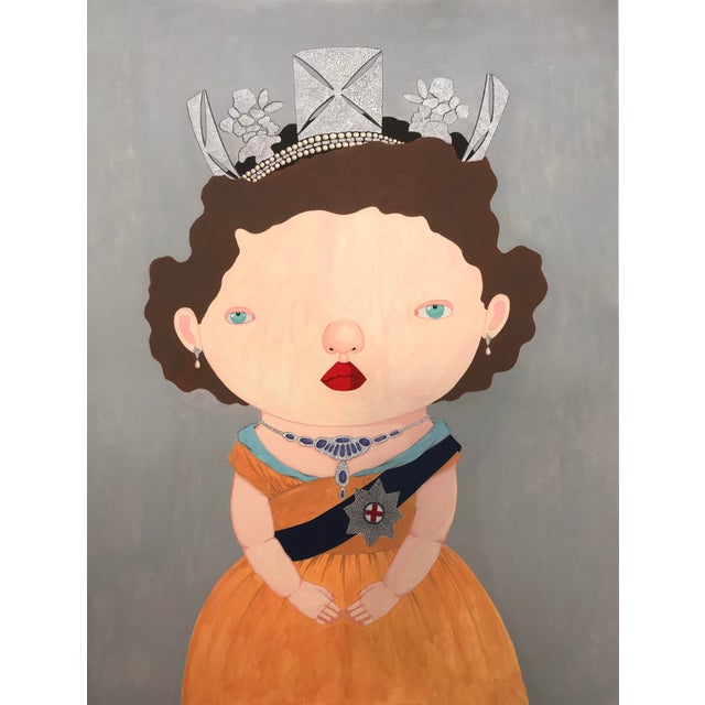 """""""The Last Reigning Queen """" Print by Charles Benton For Sale - Image 9 of 9"""