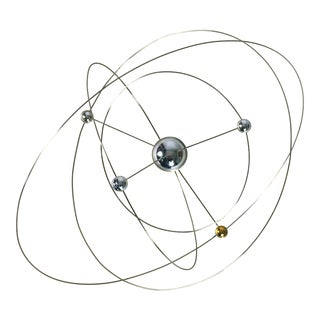 Solar System Table Clock by Jeco For Sale