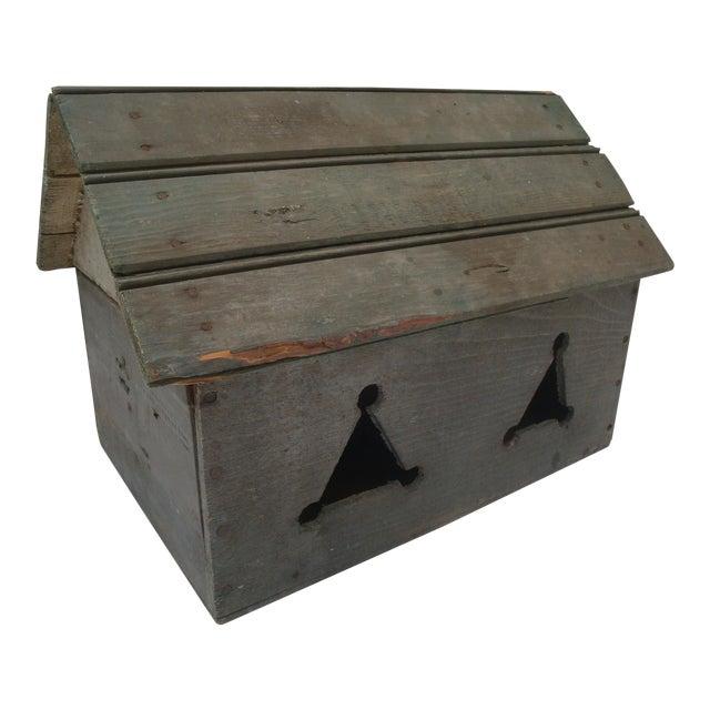 Vintage Handmade Folk Art Birdhouse For Sale