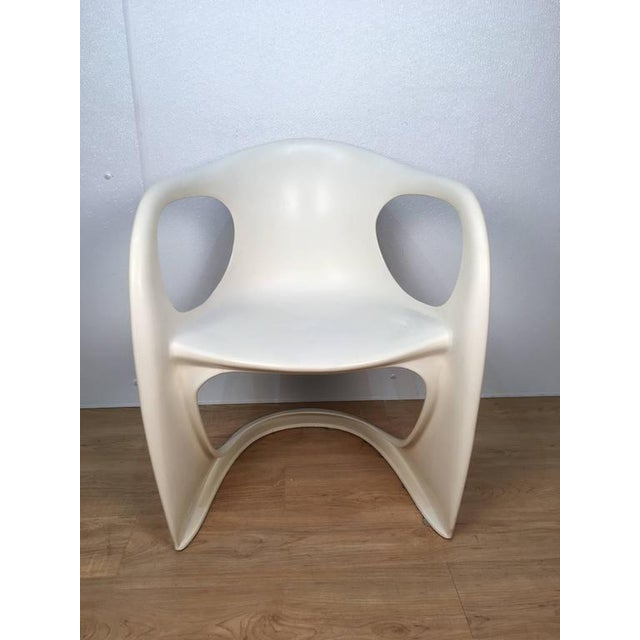 Steen Østergaard Off White Steen Ostergaard Chairs - Set of 6 For Sale - Image 4 of 8